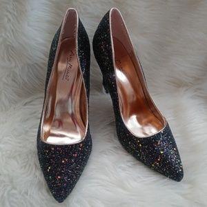 Anne Michelle Glitzy Stilettos Heels